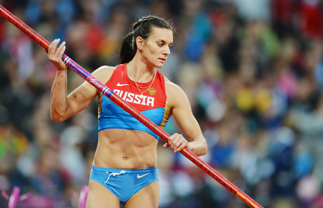 Елена Исинбаева