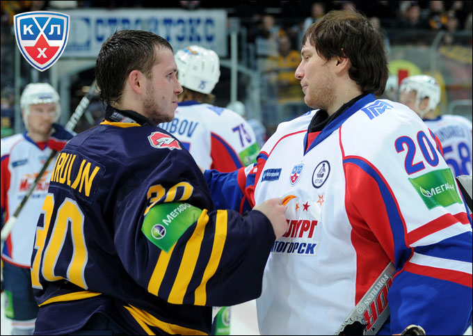 Константин Барулин и Георгий Гелашвили