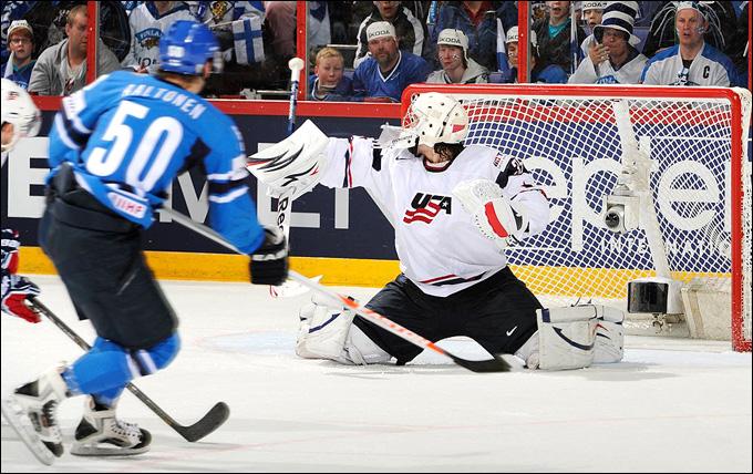 8 мая 2013 года. Хельсинки. Чемпионат мира. Групповой этап. США — Финляндия — 4:1