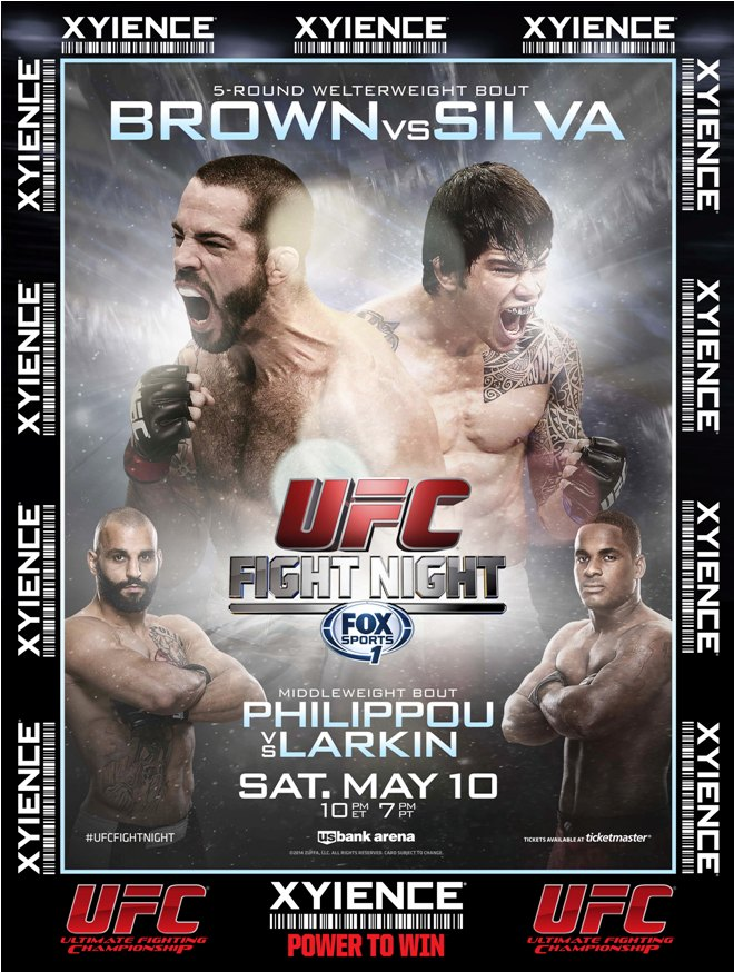 Постер к турниру UFC Fight Night 40