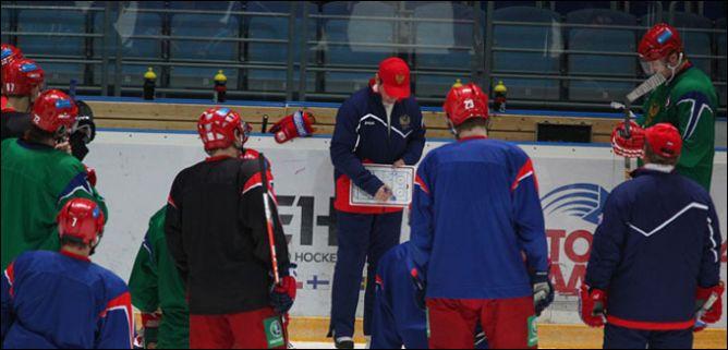 9 февраля 2011 года. Мытищи. Открытая тренировка сборной России
