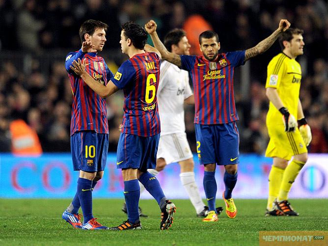 """""""Барселона"""" — """"Реал"""" — 2:2"""