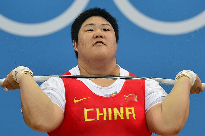 Лондон-2012. Тяжёлая атлетика. Женщины. Лу-Лу Чжоу (Китай)
