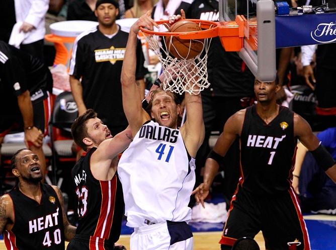 "НБА. Плей-офф. Финал. Матч № 5. ""Даллас Маверикс"" – ""Майами Хит"" – 112:103 (30:31, 30:26, 24:22, 28:24)"