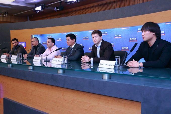 """Пресс-конференция к турниру """"Битва под Москвой 9"""""""