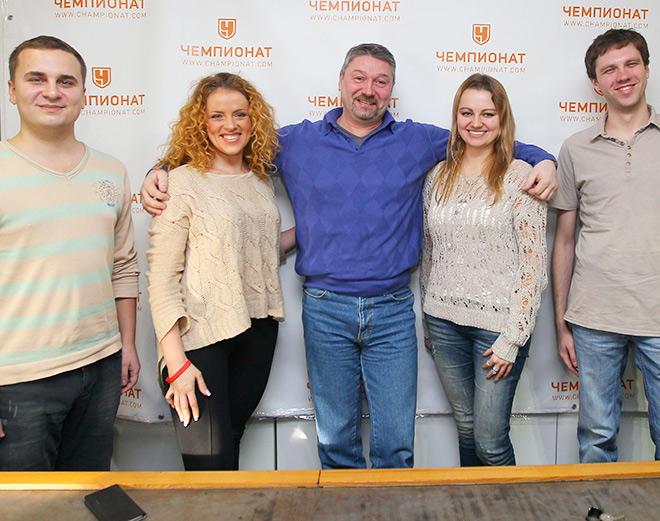 Алёна Шилова, Александр Черенков и Мария Роговская