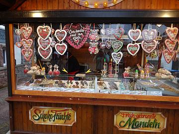 Изобилие сладостей на улицах Оберхофа