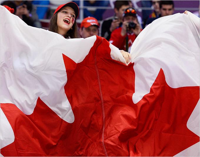 Канадским болельщицам есть что ответить фанатам из России