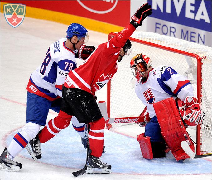 4 мая 2012 года. Хельсинки. Чемпионат мира. Групповой турнир. Канада — Словакия — 3:2