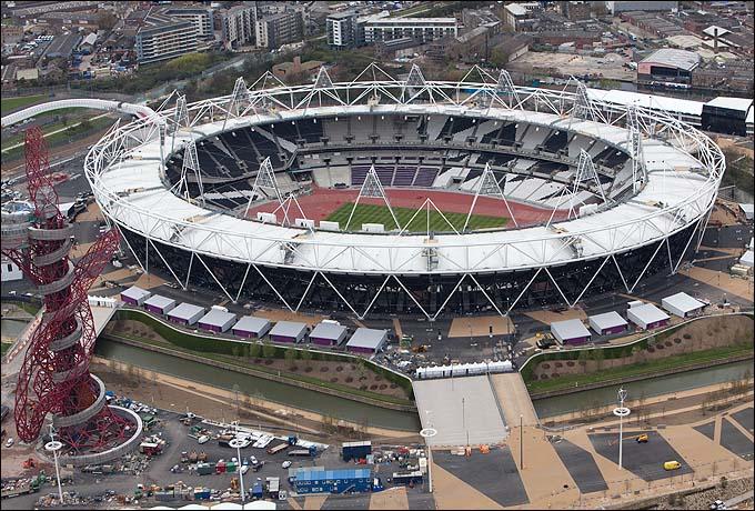 Так выглядит олимпийский стадион, на котором состоится открытие Олимпиады 2012