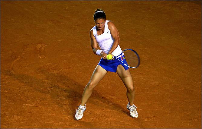 Сара выиграла Барселону и в одиночном, и в парном разрядах