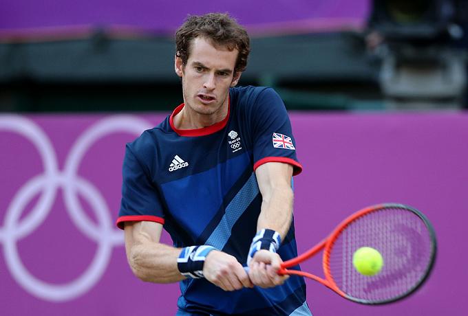 Лондон-2012. Теннис. Энди Маррей