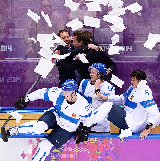 Финляндия — бронзовый призёр Олимпиады в Сочи