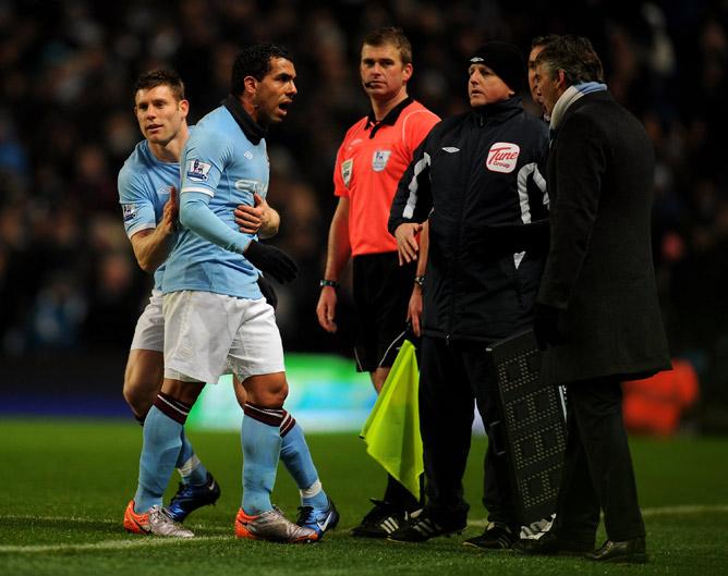 "Карлос Тевес (""Манчестер Юнайтед"" — ""Манчестер Сити"", 2009 год)"