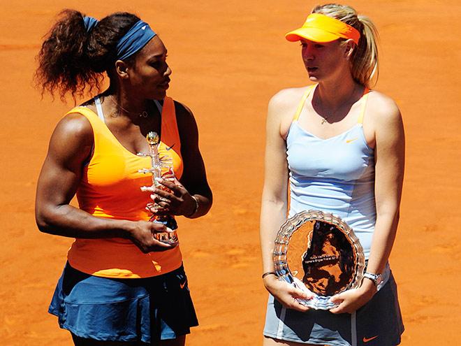Серена Уильямс обыграла Марию Шарапову в прошлогоднем финале