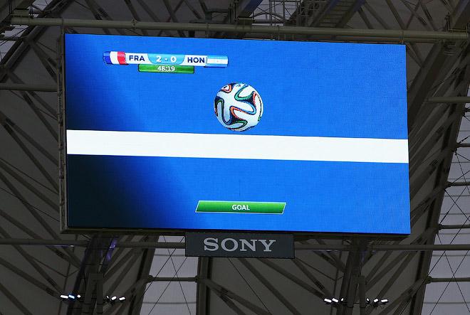 Видеотехнология Goal Control помогла определить взятие ворот в матче Франция — Гондурас