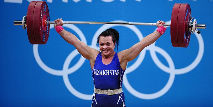 Лондон-2012. Тяжёлая атлетика. Женщины. Светлана Подобедова