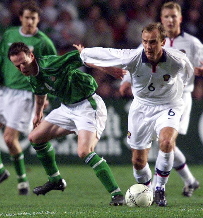 Ирландия - Россия. 13.02.2002