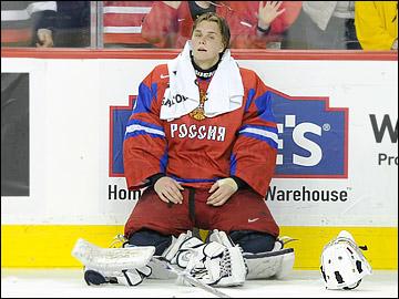 Андрей Макаров — герой финала МЧМ-2012, отразивший 57 из 58 бросков шведской сборной