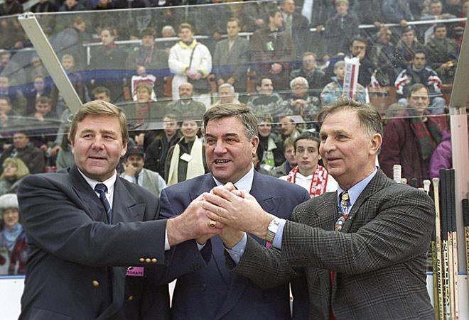 Геннадий Цыгуров, Владимир Васильев и Виктор Тихонов