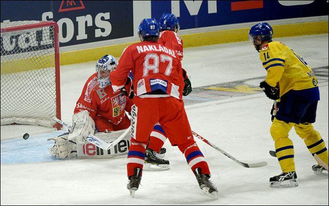 10 февраля 2011 года. Стокгольм. Еврохоккейтур. Шведские игры. Чехия — Швеция — 1:6.