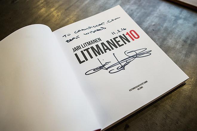 Яри Литманен в гостях у «Чемпионата»