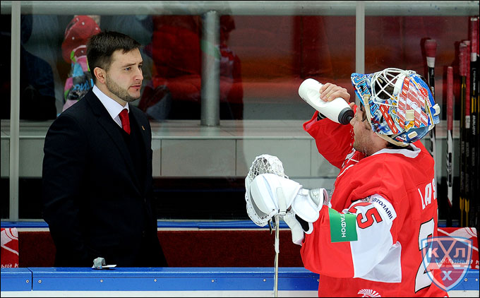 Олег Ромашко и Ян Лашак