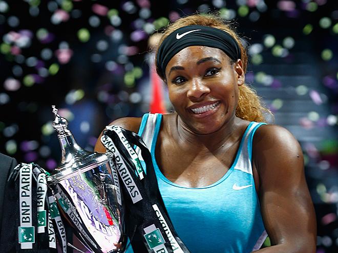 Серена получила звание лучшего игрока года в WTA
