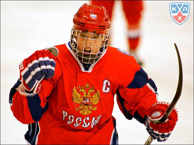 Евгений Кузнецов — капитан юниорской сборной России