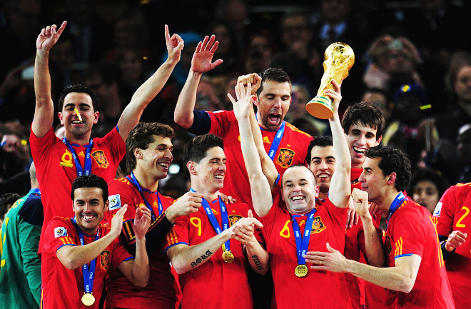Сборная Испании — чемпион мира 2010 года