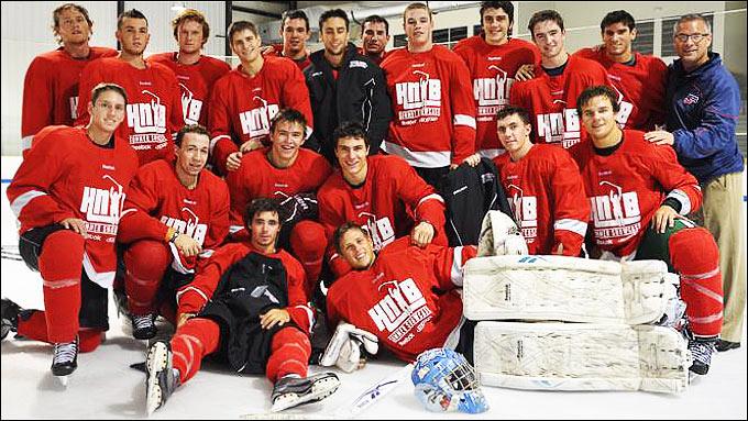 New England Elite — чемпионы главного события Hockey Night in Boston