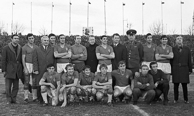 Команда ЦСКА — чемпион Советского Союза 1970 года