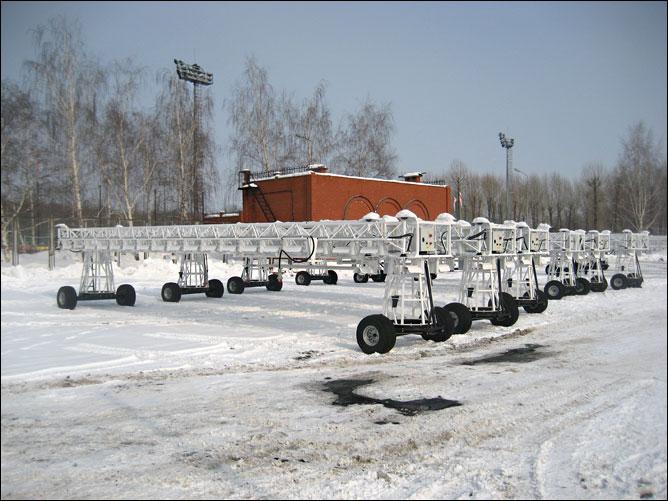 Агрегаты по подготовке газона