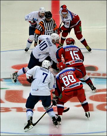 Вторая сборная России против сборной Франции