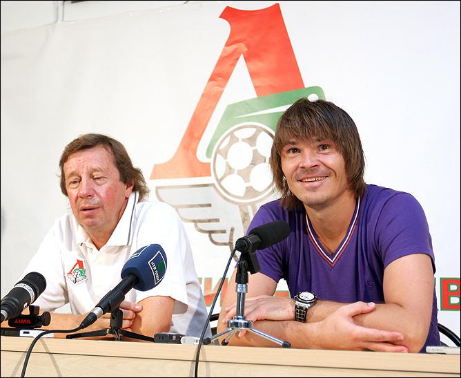 Дмитрий Лоськов и Юрий Семин.