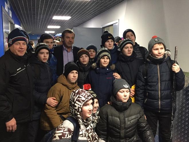 Олег Знарок на Матче звёзд