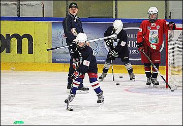 Training camp featuring Mikhail Grabovski