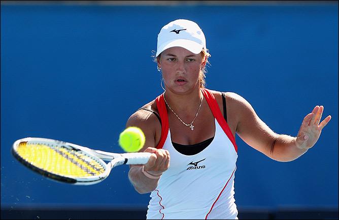 Юлия выиграла первый матч в карьере на взрослом турнире WTA
