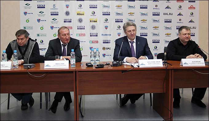 "Пресс-конференция руководства ""Салавата Юлаева"" по итогам сезона"