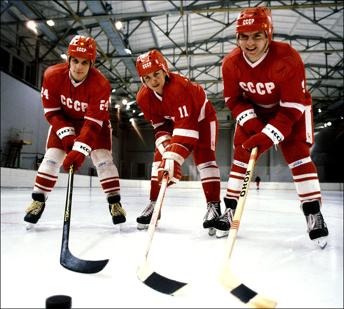 Живые легенды: Сергей Макаров, Игорь Ларионов и Владимир Крутов