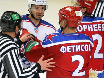 Матч-возвращение Вячеслава Фетисова