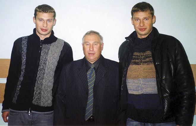 Владимир Евсеев и братья Березуцкие