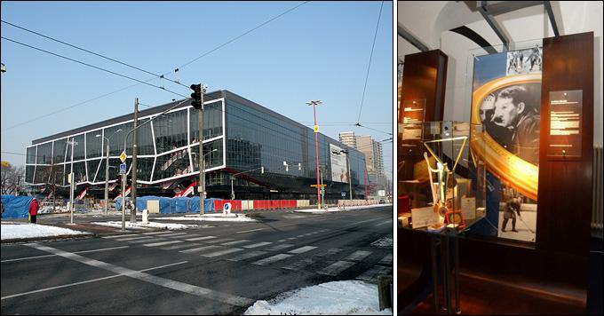 """""""Славнефт-Арена"""" — дом """"Слована"""", в котором есть уголок Ладислава Горски"""
