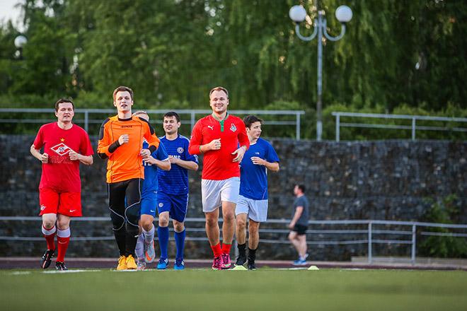 Тренировка в академии «Чемпионата»