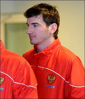 4 мая 2012 года. Стокгольм. Николай Жердев на тренировке сборной России
