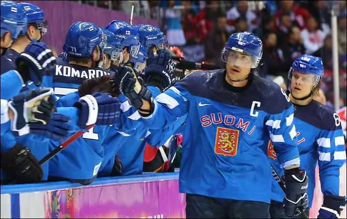 Теему Селянне и его сборная