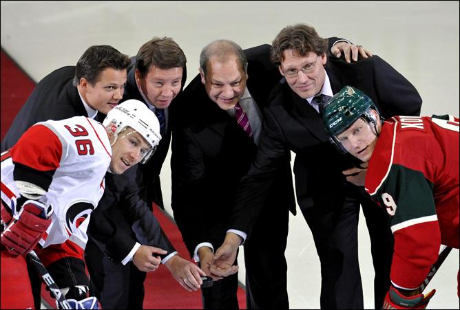 08.10.2010. НХЛ. Итоги дня. Фото 01.