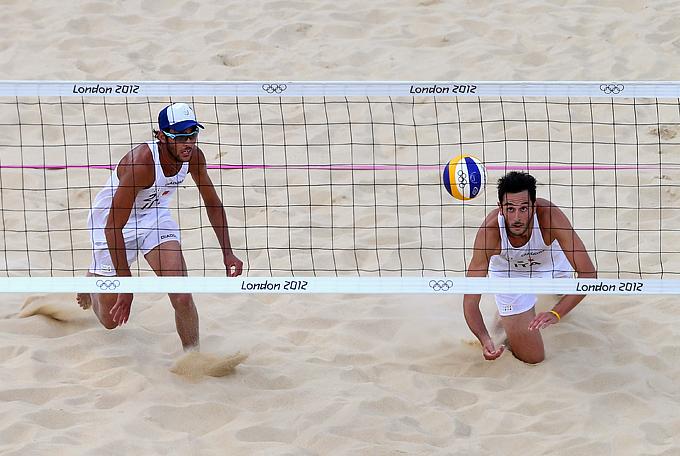 Лондон-2012. Пляжный волейбол. Паоло Николаи и Даниеле Лупо