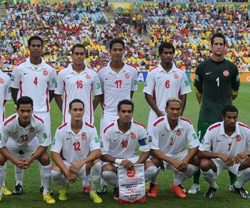 Сборная Таити дебюитировала в Кубке Конфедераций