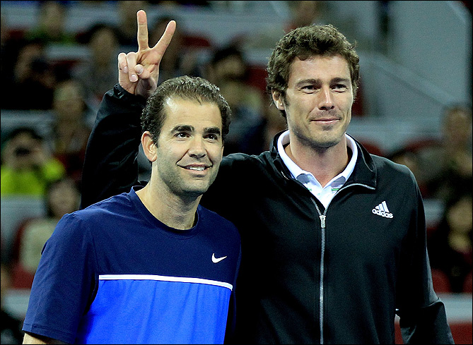 Марат и Пит вновь померились силами на корте, как это было на триумфальном для россиянина US Open-2000